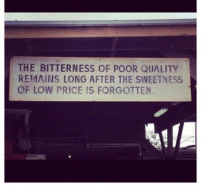 Poor quality