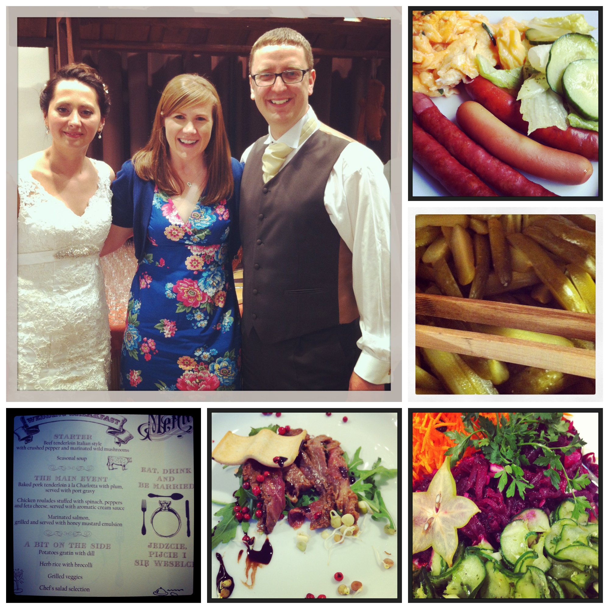 Poland Wedding Collage