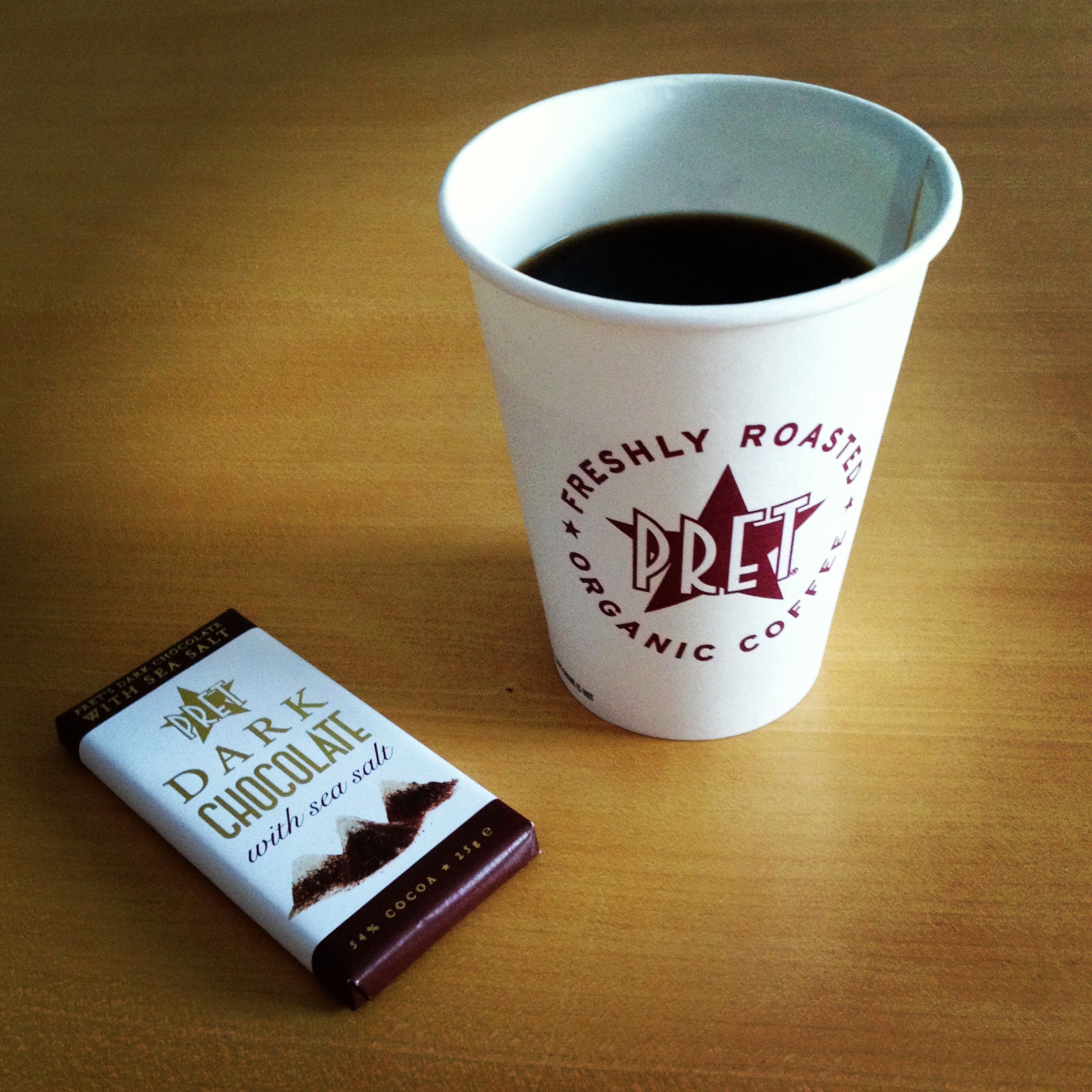Pret coffee