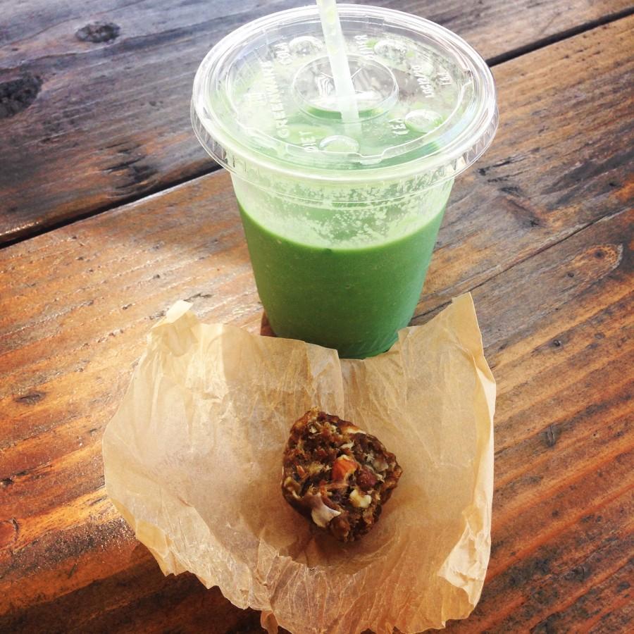 Matcha truffle; Doctor Greens