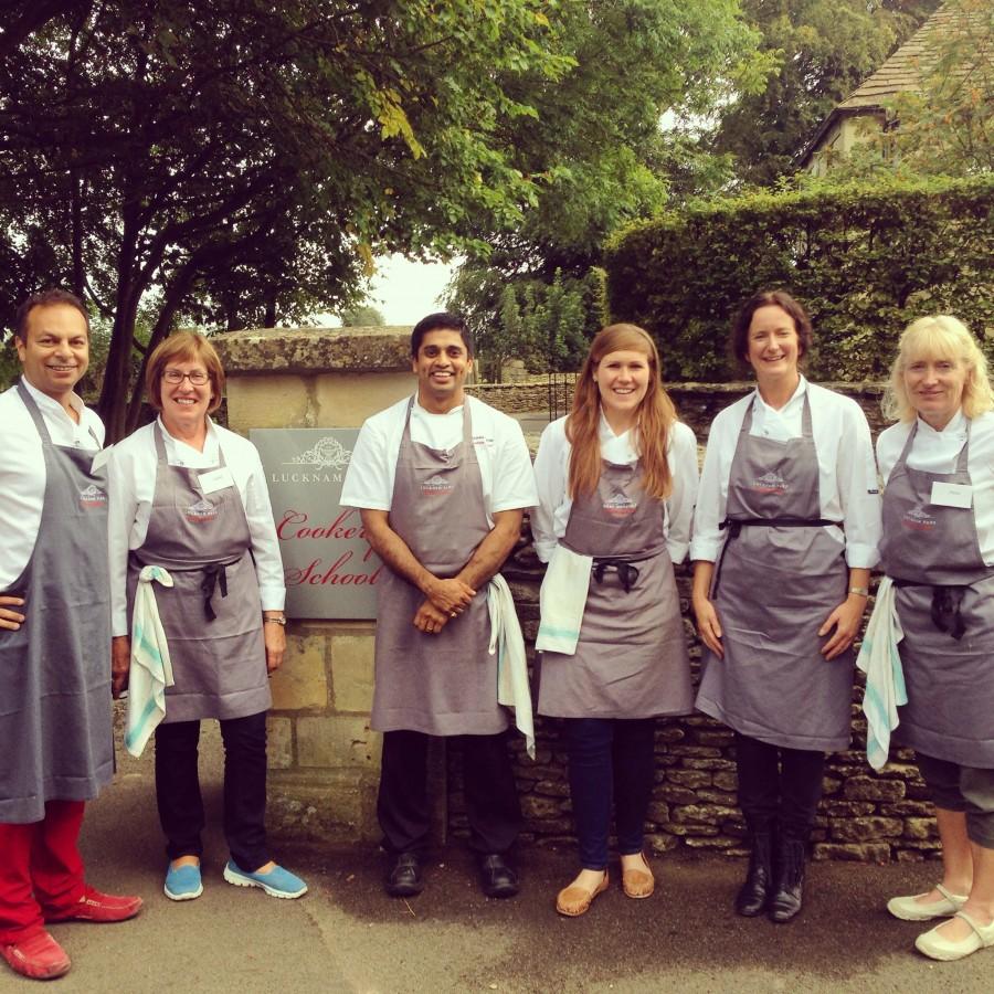 Cookery school graduates