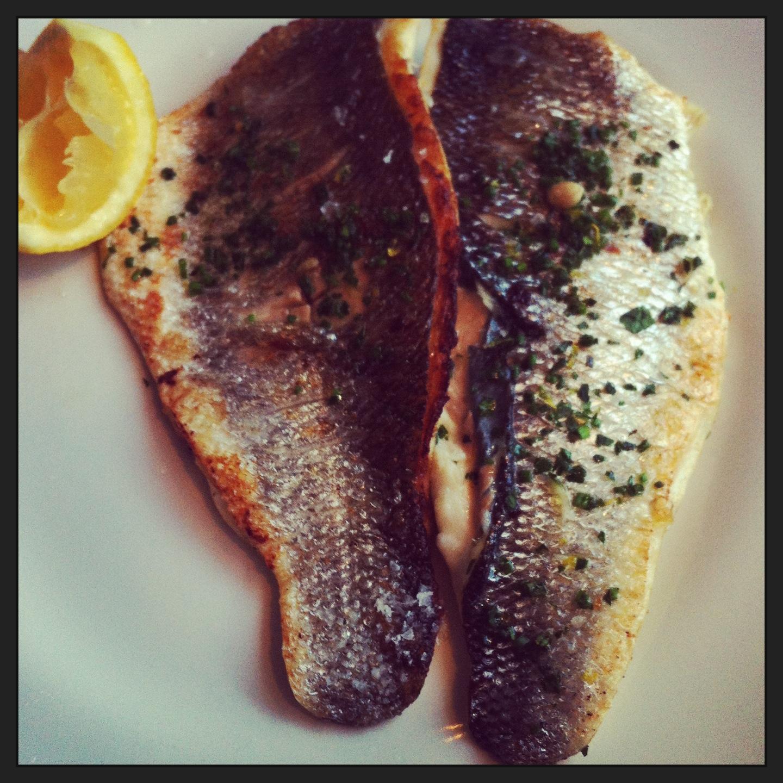 Fish at 85 seabass