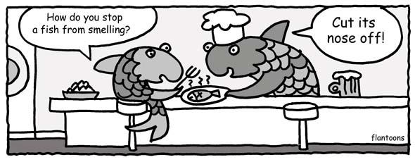 fish smells