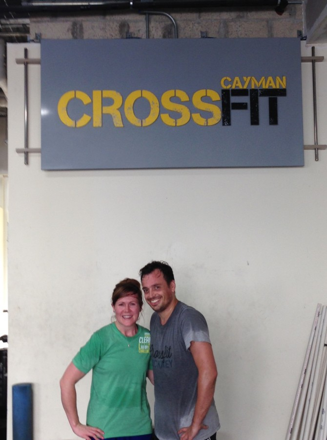 Visiting CrossFit Cayman - Let Her Eat Clean