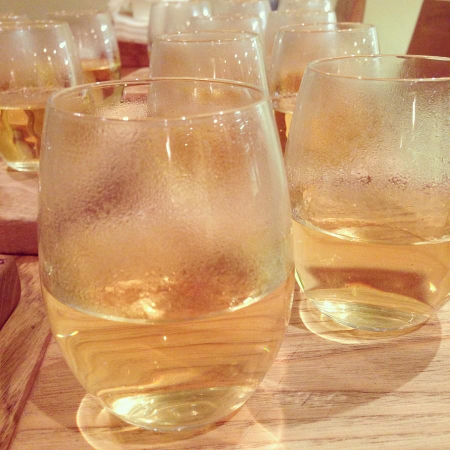 White peach blossom tea - not Sauvignon, I hasten to add...